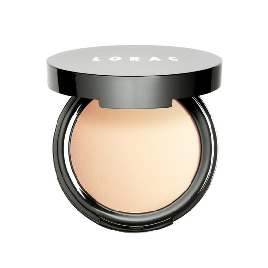 LORAC | POREfection Baked Perfecting Powder PF1, PF1 (Fair) - Product front facing open