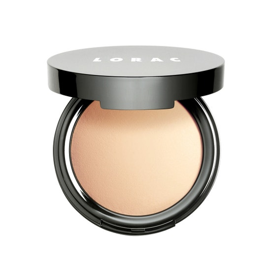 LORAC | POREfection Baked Perfecting Powder - Product front facing slightly open on white background