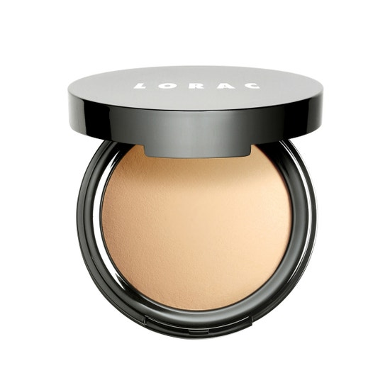 LORAC | POREfection Baked Perfecting Powder PF3, PF3 (Light / Medium) - Product front facing open
