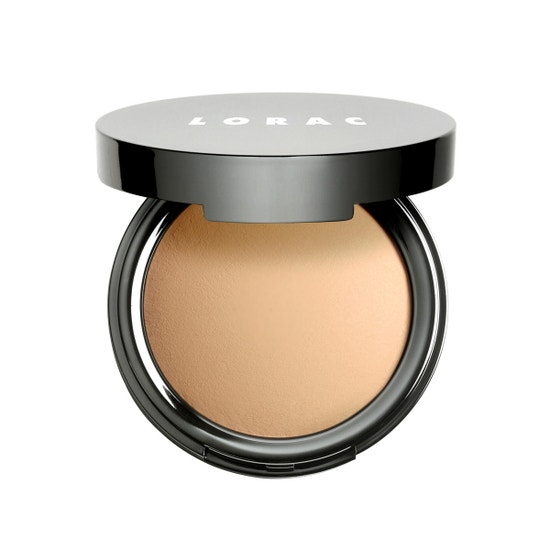 LORAC | POREfection Baked Perfecting Powder PF4, PF4 (Medium) - Product front facing open