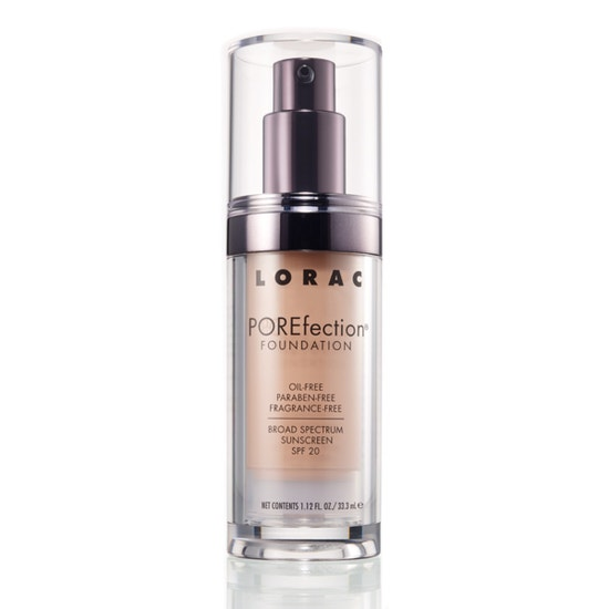 LORAC | POREfection Foundation PR3 - Light Beige, PR3 (Light Beige) - Product front facing