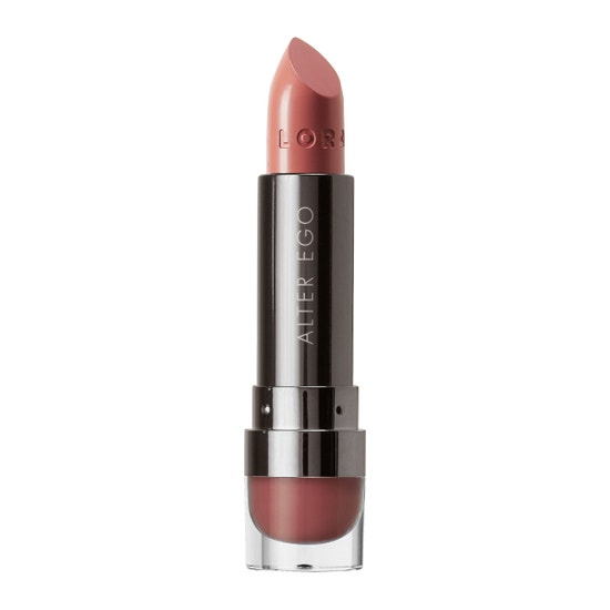 LORAC | Alter Ego Matte Lipstick - Duchess (Rosy Nude) - Product front facing without cap