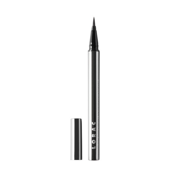 LORAC | Front of the Line PRO Liquid Eyeliner Black - Product front facing without cap
