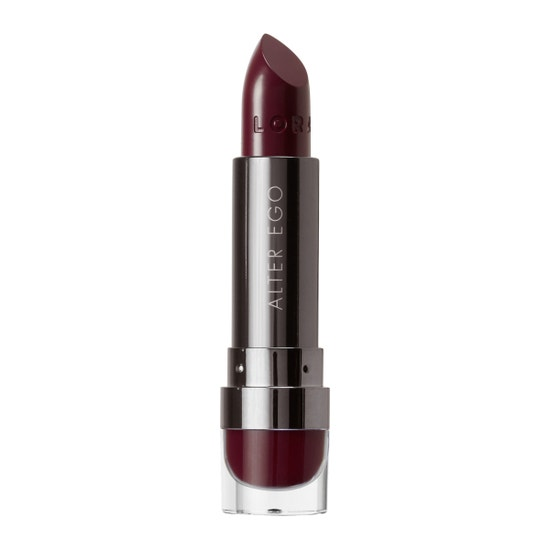 LORAC | Alter Ego Satin Lipstick Provocateur, Provocateur (Black Cherry) - Product front facing without cap