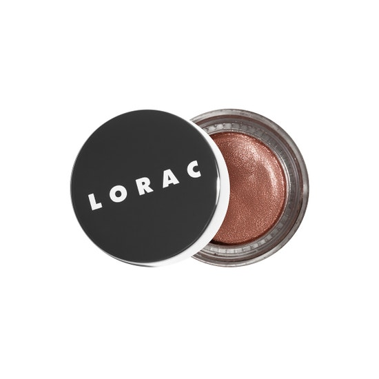 LORAC | LUX Diamond Crame Eye Shadow - Silk - Product front facing slightly open