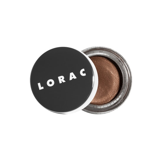 LORAC | LUX Diamond Crame Eye Shadow - Suede - Product front facing slightly open