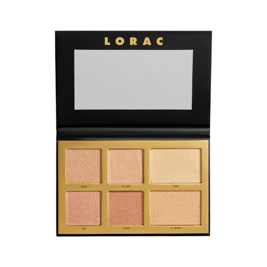 LORAC | LUX Diamond Golden Hour Palette  - Product front facing open on white background