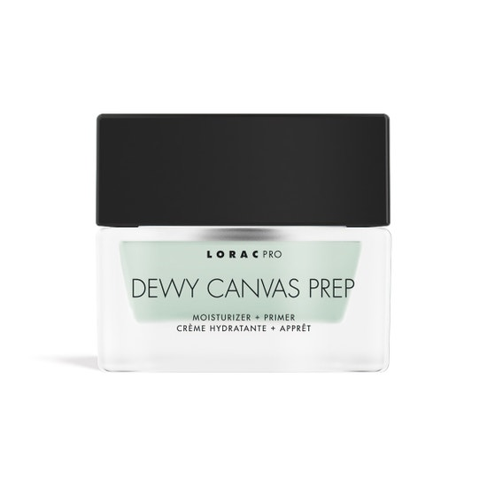 Dewy Canvas Prep   LORAC  Product front facing on a white background