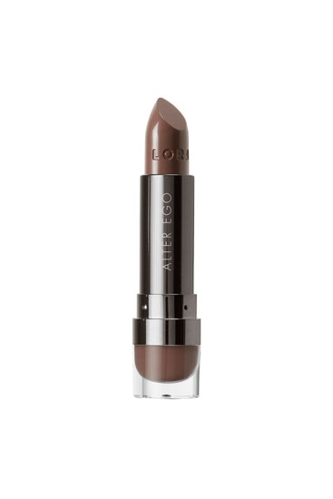 LORAC | Alter Ego Satin Lipstick Urban Artist, Urban Artist (Chocolate Taupe) - Product front facing without cap