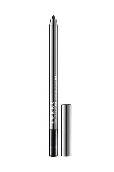 LORAC | Front Of The Line PRO Eye Pencil Black Pearl (With Silver Shimmer) - Product front facing without cap