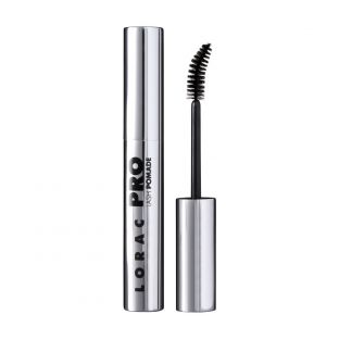 LORAC | PRO Lash Pomade Mascara - Product front facing with cap on and applicator