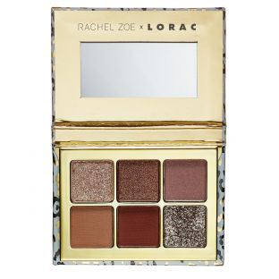 LORAC | Hollywood Glamour Mini Palette Effortless Glamour - Product front facing open