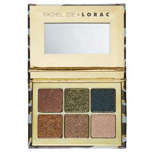 LORAC   Hollywood Glamour Mini Palette Golden Eyes  - Product front facing open
