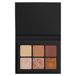 LORAC | Mini PRO Palette Simmering | Product front facing open on a white background