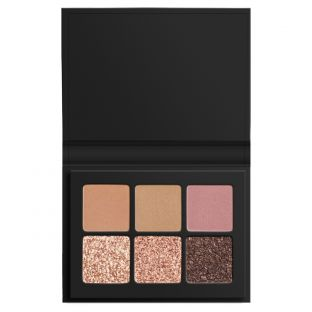 LORAC | Mini PRO Palette Sparkling | Product front facing open on a white background