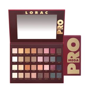LORAC | MEGA PRO PALETTE - Product front facing open