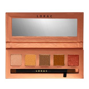 LORAC | Unzipped Unauthorized Eye Shadow Palette - Product front facing open