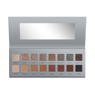 LORAC | PRO Palette Vintage Glamour | Product front facing and open on white background