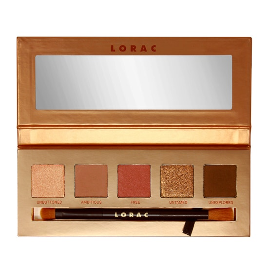 LORAC | Unzipped Brazen Eye Shadow Palette - Product front facing open