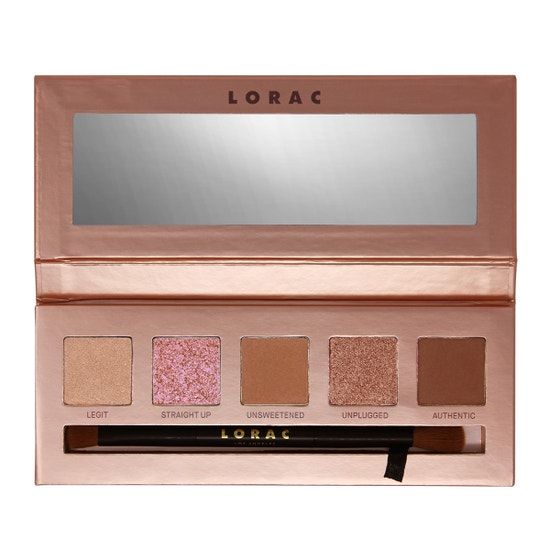LORAC | Unzipped Unfiltered Eye Shadow Palette - Product front facing open
