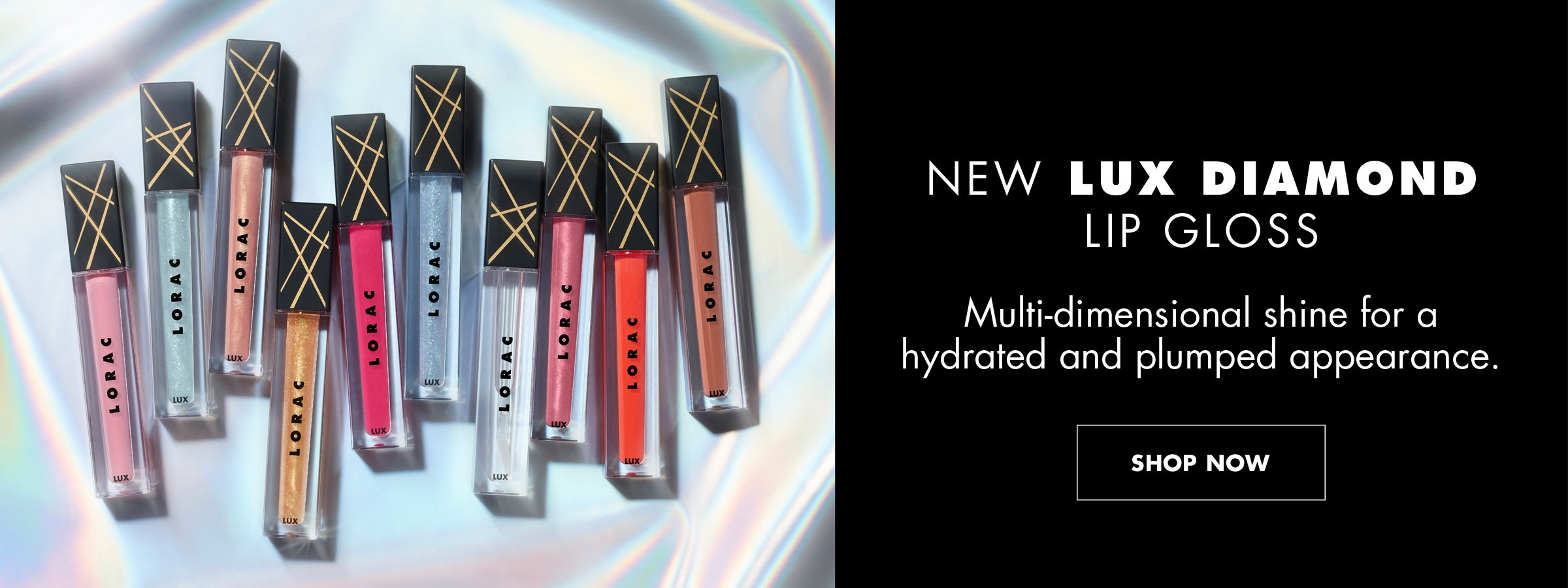 NEW LUX DIAMOND LIP GLOSS |Multi-Dimensional shine for a hydrated and plumped appearance. | SHOP NOW
