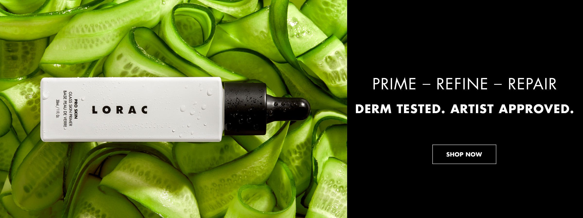 Prime Refine Repair | Derm Tested. Artist Approved. | SHOP NOW
