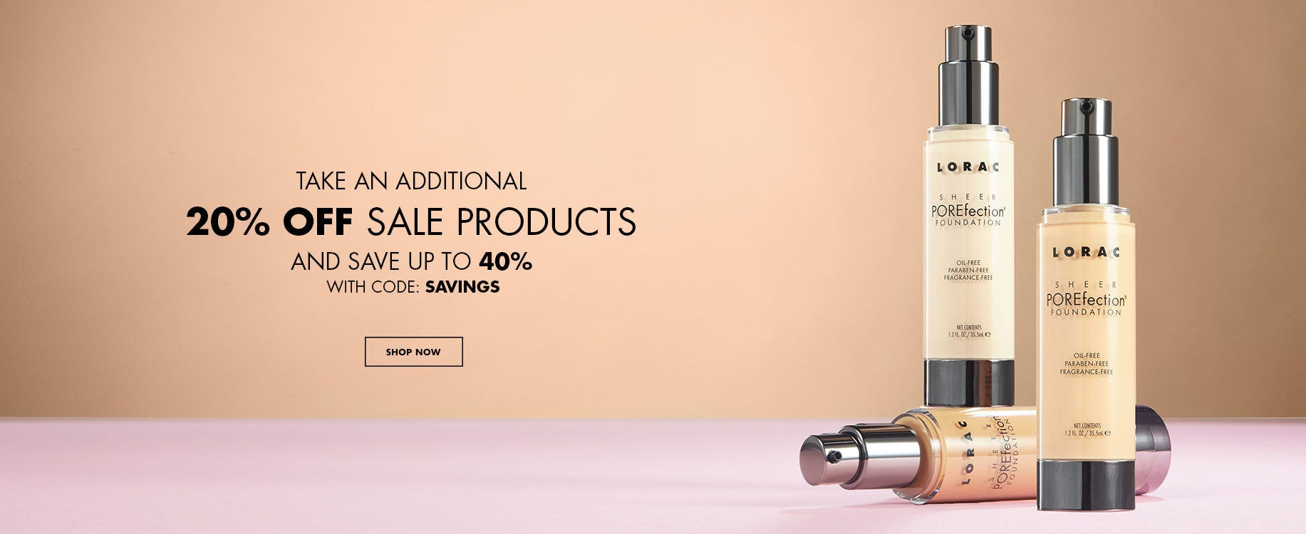 Take An Additional 20% Off Sale Products